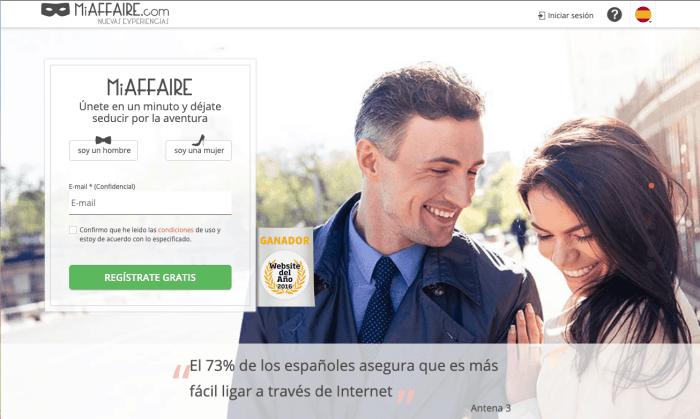 Miaffaire Opiniones - App para Aventuras Sin Compromiso