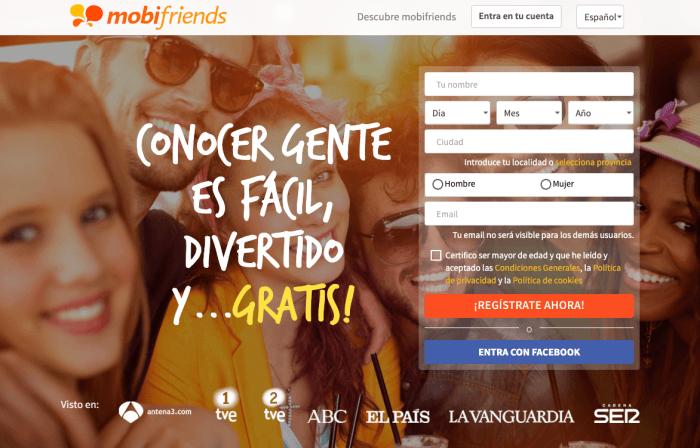 Entrar en Mobifriends: Opiniones y Experiencias