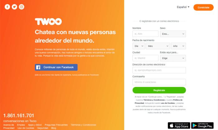 Twoo Opiniones - Chat y Nuevos Contactos Cerca de Ti