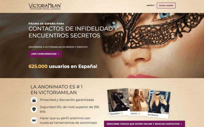 Victoria Milan Opiniones ¿Funciona para Contactos Infieles?