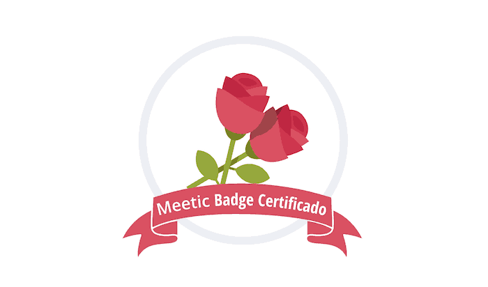 meetic badge certificado