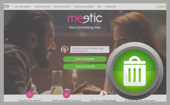 ¿Cómo Eliminar la Cuenta en Meetic? [Paso a Paso]