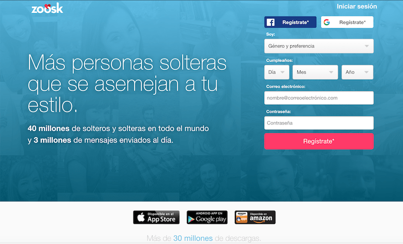 Zoosk opiniones