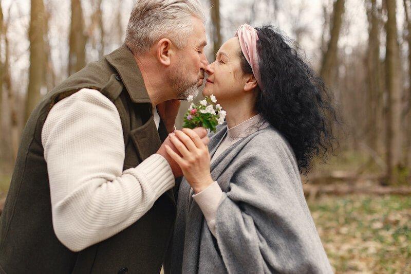 pareja más de 40 años